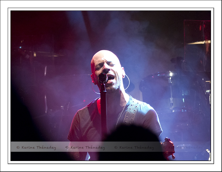 Chris Daughtry, le chanteur (2014)