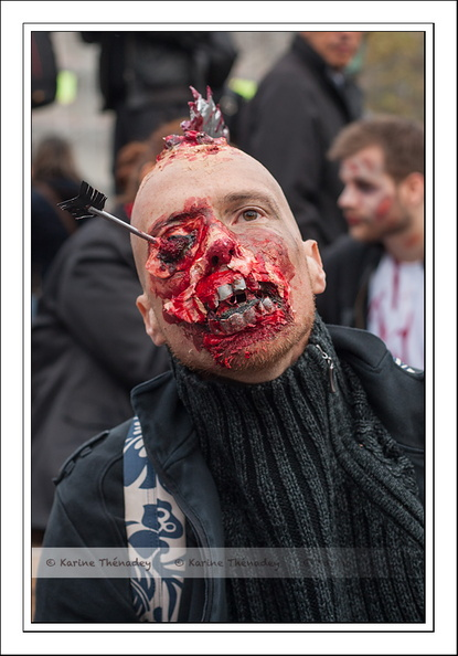 Zombies Walk, Paris novembre 2014